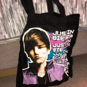 Handbags - Justin Bieber canvas tote bag